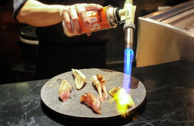 sushi-torch
