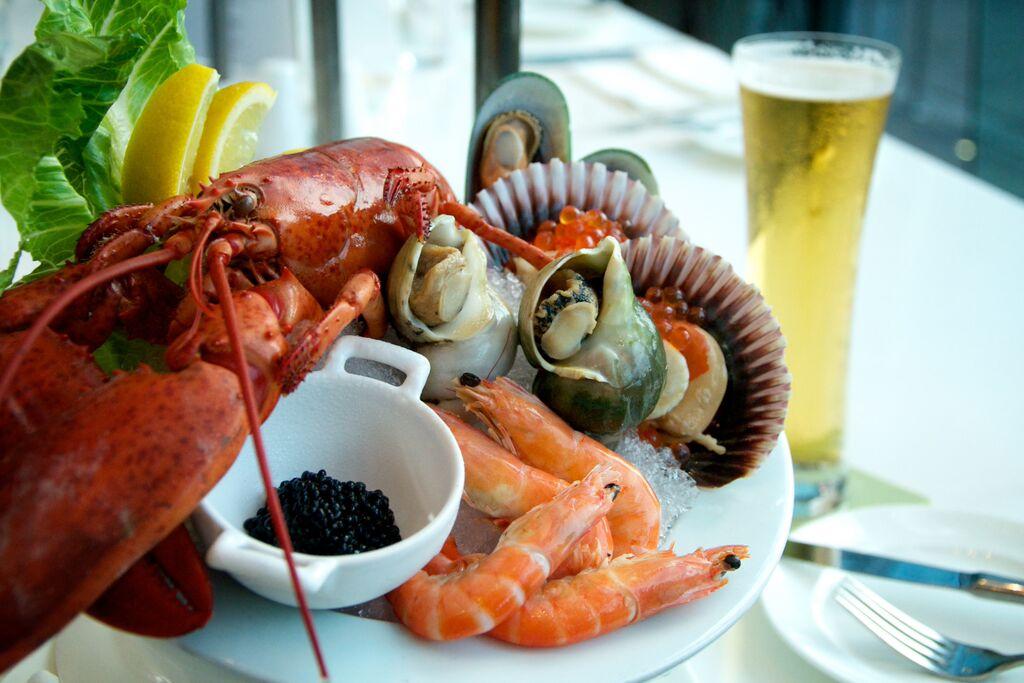 GREEN Seafood Platter