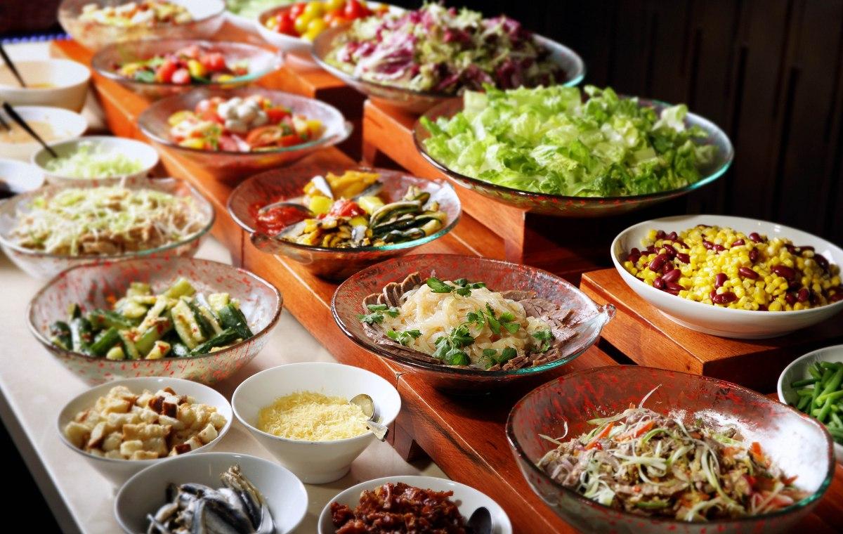 Salad corner