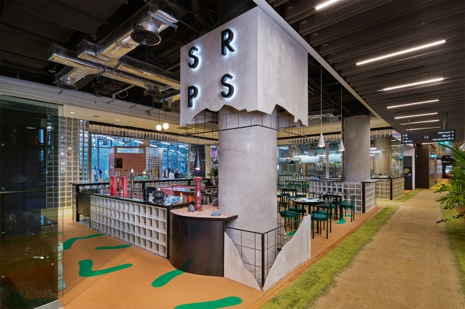 SRPS Interior Steamroom