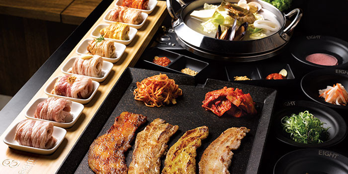 Eight-Korean-BBQ-8-Colours-Food-Set