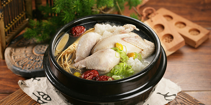 Hyangtogol-Ginseng-Chicken